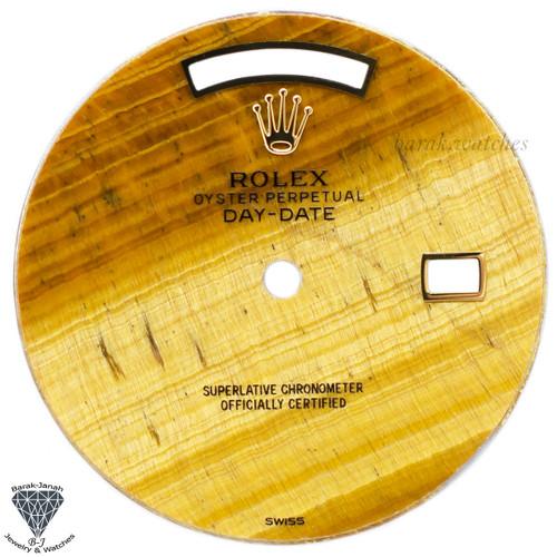 Rolex Tiger Eye Stone Dial