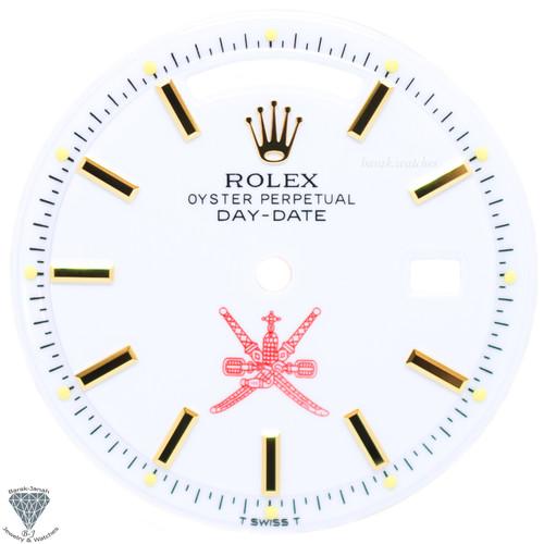 White Oman Khanjar Rolex Dial