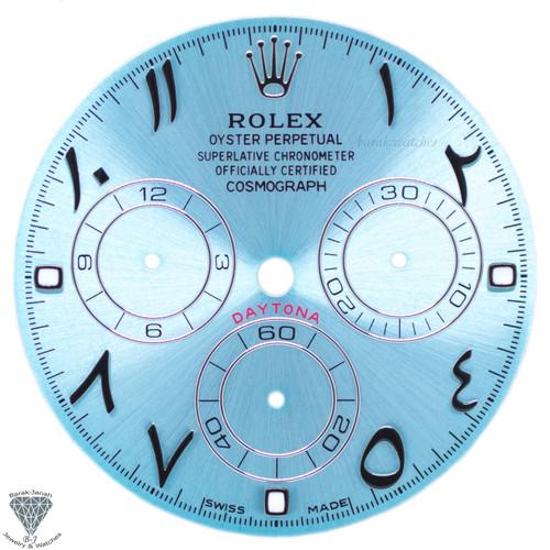 Ice Blue Arabic Rolex Dial For Rolex Daytona