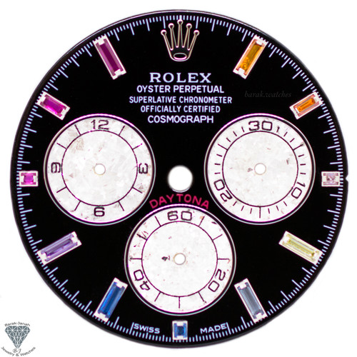 Rainbow Rolex Dial For Rolex Daytona 116520, 116599 RBOW