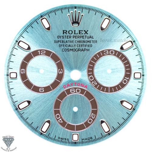Ice Blue Rolex Dial For Rolex Daytona 116506, 116505 For Caliber 4130