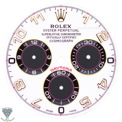 White Rolex Dial For Rolex Daytona 116528