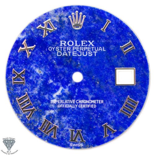 Rolex Lapis Lazuli Dial For Rolex DateJust 36mm Caliber 3035 3135 With Roman Num