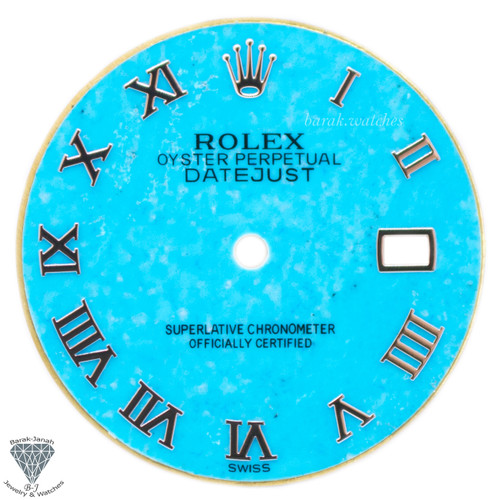 Turquoise Rolex Dial For Rolex DateJust 36mm Caliber 3035 3135