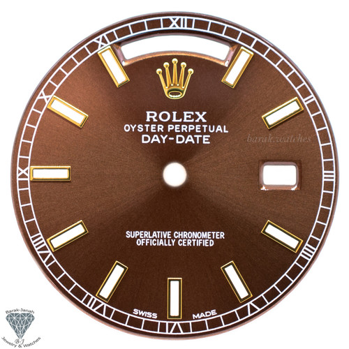 Chocolate Brown Dial For Rolex Day-Date 118235 Caliber 3155 3055