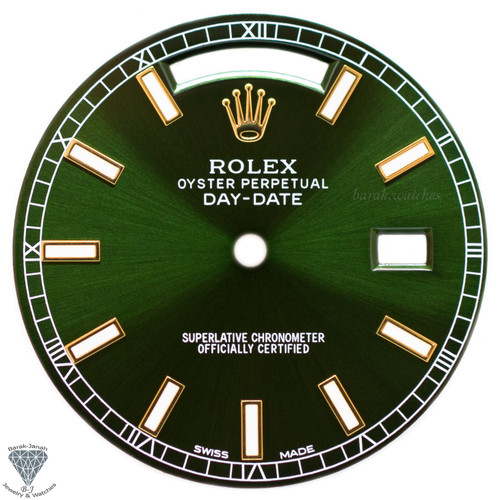 Green Dial For Rolex Day-Date 118238 Caliber 3155 3055
