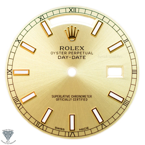 Champagne Dial For Rolex Day-Date 18038 118238