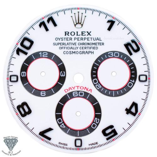 White Panda Rolex Dial For Rolex Daytona 116509, 116520, For Caliber 4130