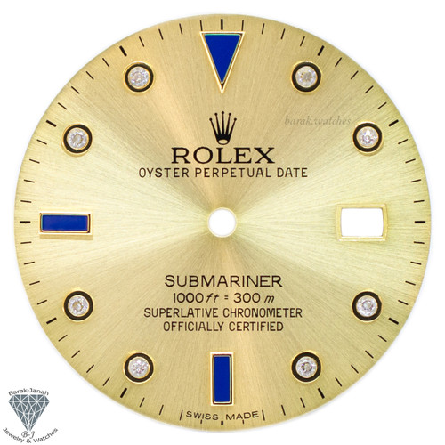 Champagne Dial For Rolex Submariner 16613 16808 116613 - Caliber 3035 3135