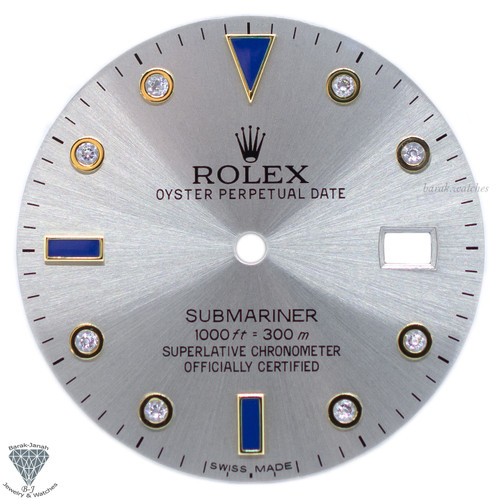 Gray Dial For Rolex Submariner 16613 16808 116613 - Caliber 3035 3135
