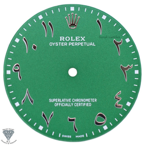 Matte Green Dial For Rolex Oyster Perpetual 41mm 124300 - Caliber 3230