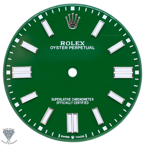 Green Dial For Rolex Oyster Perpetual 41mm 124300 - Caliber 3230
