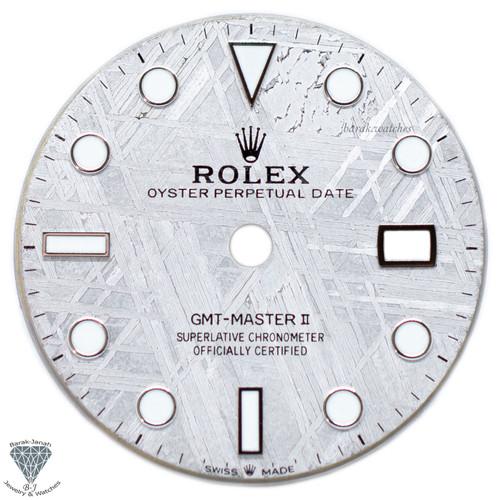 Meteorite Dial For Rolex GMT-Master II 116710 116719BLRO - Calibre 3186