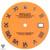 Coral Orange Rolex Dial For Rolex DateJust 36mm Caliber 3035 3135