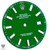 Green Dial For Rolex DateJust 41mm 126300 Caliber 3235 - Oyster Perpetual Style