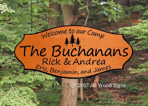 Outdoor Camping Signs