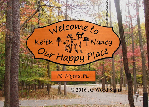 Personalized Camper Signs