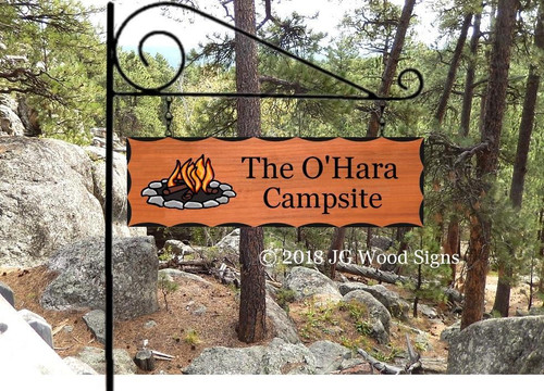 Personalized Wooden Outdoor Signs
