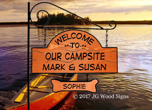 RV Camping Sign