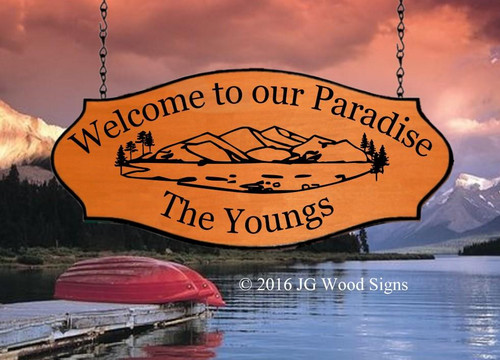 Personalized RV Welcome Signs