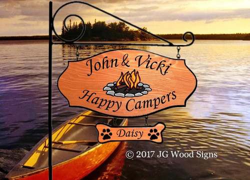 Personalized Signs for Campers