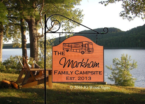 Personalized Camp Signs