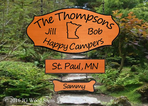 Camping Sign Gifts