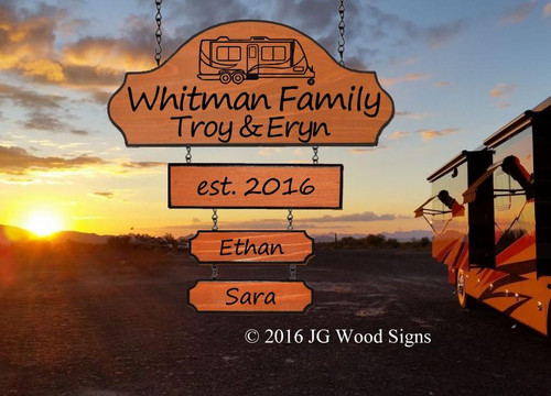 Campsite Name Signs Etsy Personalized Gift Camper Sign Carved Camping Sign  Includes optional RV Sign Holder JG Wood Signs Carved  Wood Signs for Camping Whitman