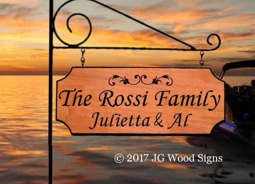 Wood Camp Signs - Custom Carved Redwood or Cedar Personalized Gift Camping Family Name Sign with Sign Holder Option JGWoodSigns Etsy Carved Sign Camper Sign Rossi
