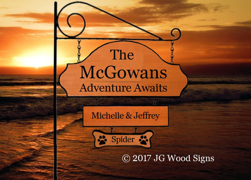 Customized Camping Signs