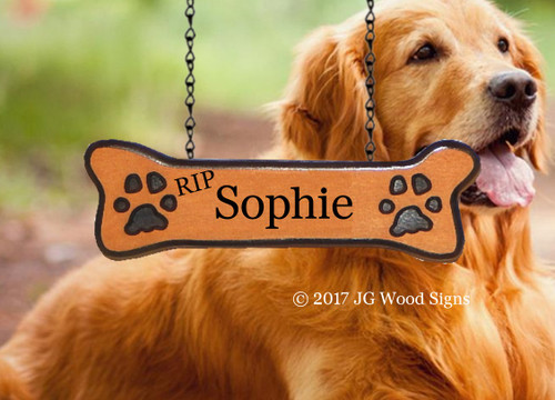 Carved Camp Sign Pet Name