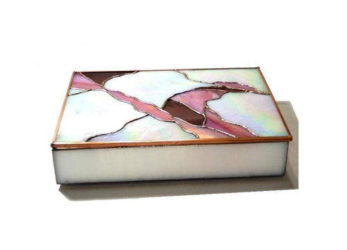 Stained Glass Box Trinket Box