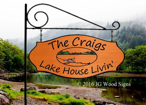 Custom Lake Signs