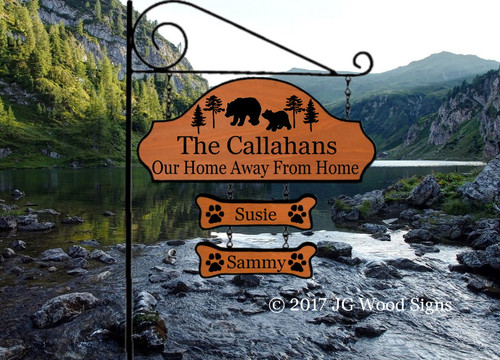 Bear Cabin Signs