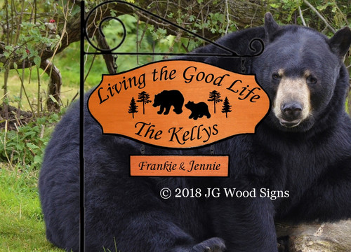 Bear Custom Camp Signs