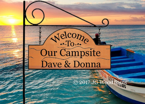 Campsite Name Signs