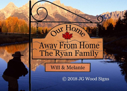 Camping Signs Personalized