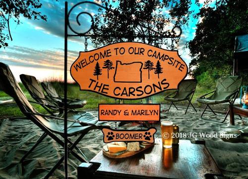 Custom Camping Signs