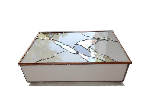 Stained Glass Trinket Boxes