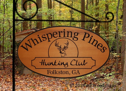 Personalized Outdoor Wooden Signs