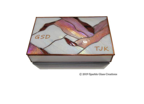 Stained Glass Photo Boxes Memory Trinket Box  Etsy - Mother Gift - Christmas Gift - Jewelry - Keepsake Box - Box 2.5