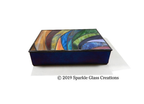 Stained Glass Memory Box