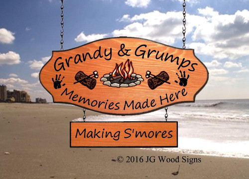 Wood Signs for Campers