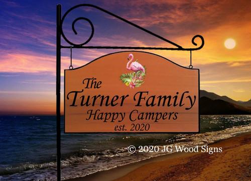 Custom RV Signs Gift, wooden camper sign