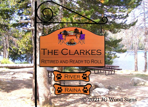 Personalized Camp Sign