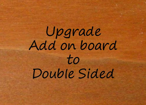 Change from Single Sided Sign Add on Board  to Double Sided Add on Board