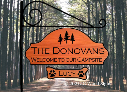 Camp Name Signs