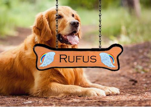Custom Camp Sign Pet Name