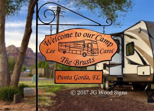 Camping Signs Motorhome