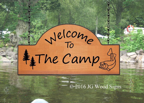 Personalized Camping Signs